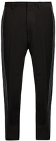 Lanvin Side-stripe Wool Straight-leg Trousers