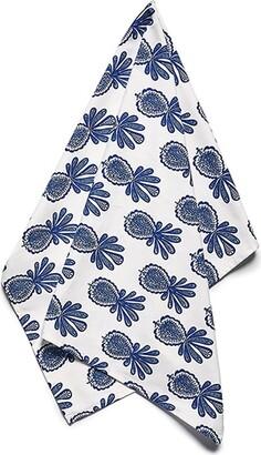 La DoubleJ Pineapple Print Dish Towel