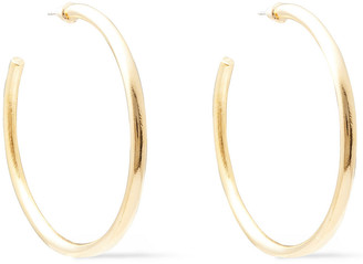 Ben-Amun Gold-tone Hoop Earrings