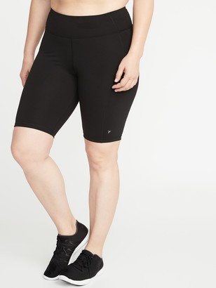 Old Navy Plus-Size Compression Biker Shorts -10-inch inseam