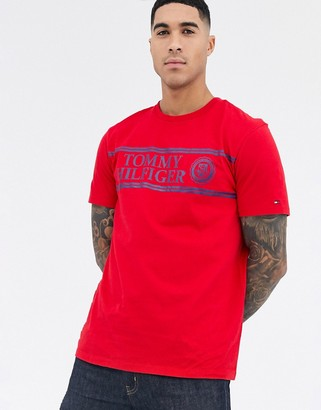Tommy Hilfiger ivy t-shirt in red