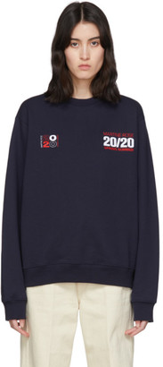 Martine Rose Navy Classic Sweatshirt