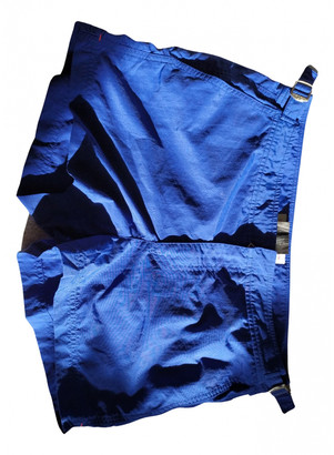 Orlebar Brown Blue Synthetic Shorts