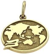 Tiffany & Co. 14K Yellow Gold Oval Shape World Charm