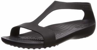 Croc Women's Serena Open Toe Summer Sandal | Casual Comfortable Dress Shoe Flat