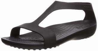 Crocs Women's Serena Open Toe Summer Sandal | Casual Comfortable Dress Shoe Flat