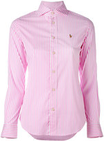 Polo Ralph Lauren classic shirt - women - Cotton/Nylon/Spandex/Elastane - 4