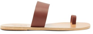 Ancient Greek Sandals Thalos Leather Sandals - Mens - Brown