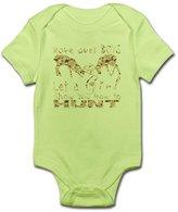 CafePress - GIRL DEER HUNTER - Cute Infant Bodysuit Baby Romper