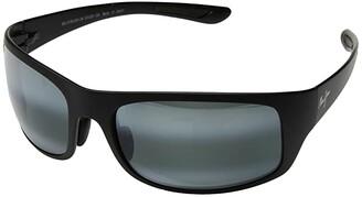 Maui Jim Big Wave (Matte Black/Neutral Grey) Athletic Performance Sport Sunglasses