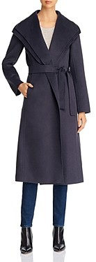 T Tahari Double-Face Wrap Coat