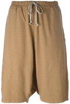 Rick Owens casual drop-crotch shorts