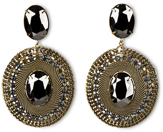 One Kings Lane Pavo Drop Earrings