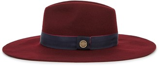 Christys London Christys' London Wimslow Bordeaux Wool Felt Hat