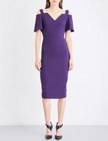 Roland Mouret Awalton crepe dress