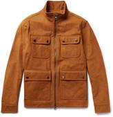 Michael Kors Nubuck Field Jacket