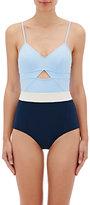 Flagpole Swim Women's Joellen One-Piece Swimsuit-BLUE