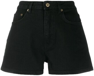 McQ High Rise Denim Shorts