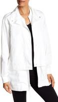 DKNY Layered Double Front Jacket