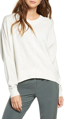 Zella Carey Crew High/Low Sweatshirt