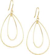 Panacea Golden Double-Teardrop Earrings