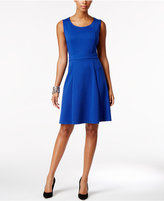 NY Collection Petite Fit & Flare Dress