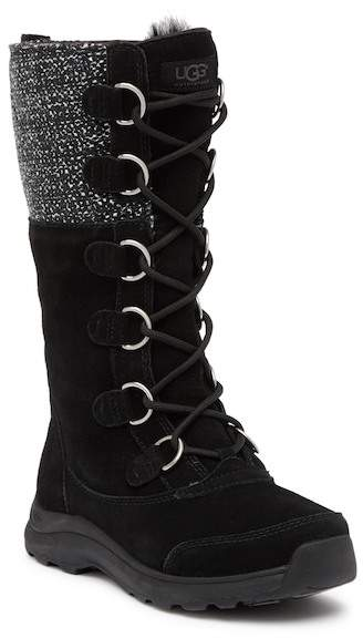 UGG Atlason Frill Suede Tall Boot