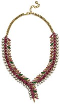 BaubleBar Women's 'Pomeline' Crystal Collar Necklace