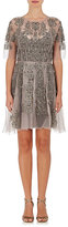 Gary Graham Women's Embellished Silk Fit & Flare Dress
