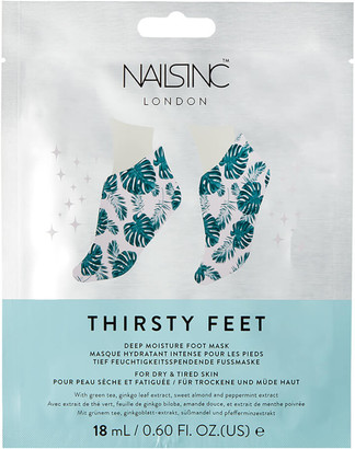 Nails Inc Thirsty Hands Super Hydrating Foot Mask 14ml