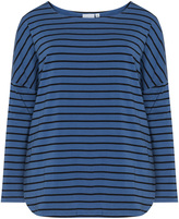 Junarose Plus Size Striped long sleeve top