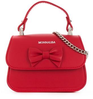 MonnaLisa Bow-Detail Shoulder Bag