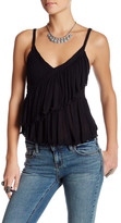 Free People Melbourne Ruffle Tank