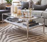 Pottery Barn Tanner Marble Rectangular Coffee Table