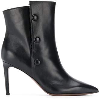 L'Autre Chose side button stiletto boots