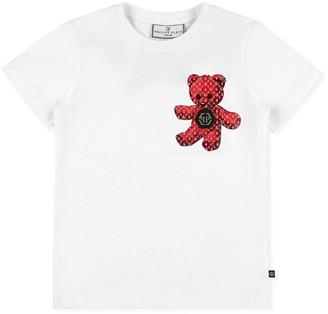 Philipp Plein Junior Teddy Bear T-Shirt (4-16 Years)