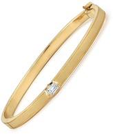 Jade Trau Diamond Vanguard Bangle Bracelet - Yellow Gold