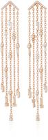 Suzanne Kalan 18K Rose Gold Diamond Chandelier Earrings