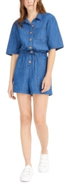 OAT Denim Romper