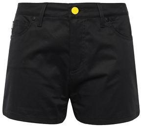 Love Moschino Stretch-cotton Poplin Shorts