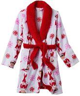 Girls 4-12 The Elf on the Shelf® Bath Robe