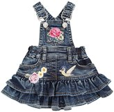 MonnaLisa Cotton Denim Effect Overalls