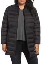 MICHAEL Michael Kors Plus Size Women's Packable Knit Trim Anorak