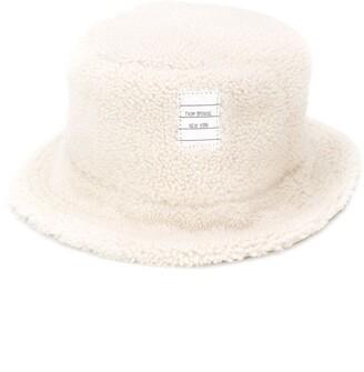 Thom Browne Shearling Bucket Hat