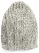 Halogen Women's Ribbed Beanie - Grey