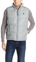 U.S. Polo Assn. Men's Basic Front-Zip Puffer Vest