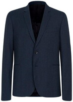 Paul Smith Slim Fit Double Breasted Flannel Suit Jacket