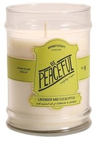 Aromatherapy Be Peaceful Glass Jar Candle