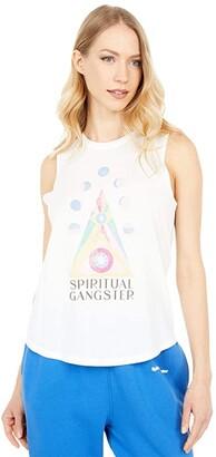 Spiritual Gangster Eye Muscle Tank (Stone) Women's Sleeveless