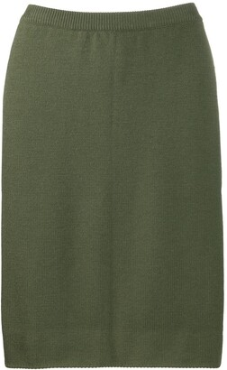 Céline Pre-Owned 1970s Pre-Owned Pencil Skirt